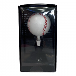 Baseball Wine Stopper 3ws4209