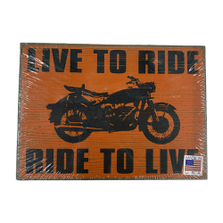 Harley Ride Sign 75340