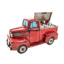Ford Red Pickup Truck...
