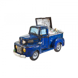 Ford Blue Pickup Truck...